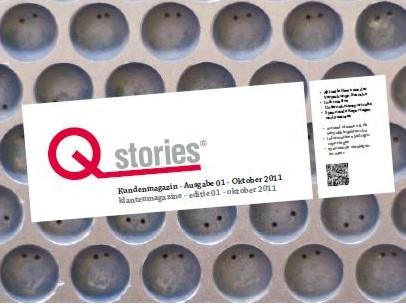 Unsere erste Ausgabe der Qstrories®!