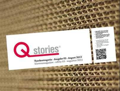 Unsere dritte Ausgabe der Qstrories®!